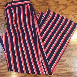Banana Republic Striped Trousers